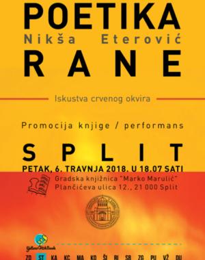 Poetika Rane Plakat A3 Split Za Web